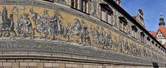Fürstenzug Dresden rechte Seite