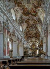 """Fürstliche Abteikirche - Amorbach """" Gott zu Gefallen... """""""