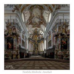 """Fürstliche Abteikirche - Amorbach """" Gott zu Gefallen..."""""""