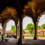 Fuerte Rojo en Agra, Uttar Pradesh