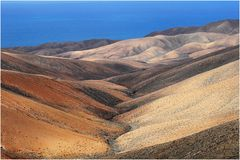 Fuerteventura, Badlands