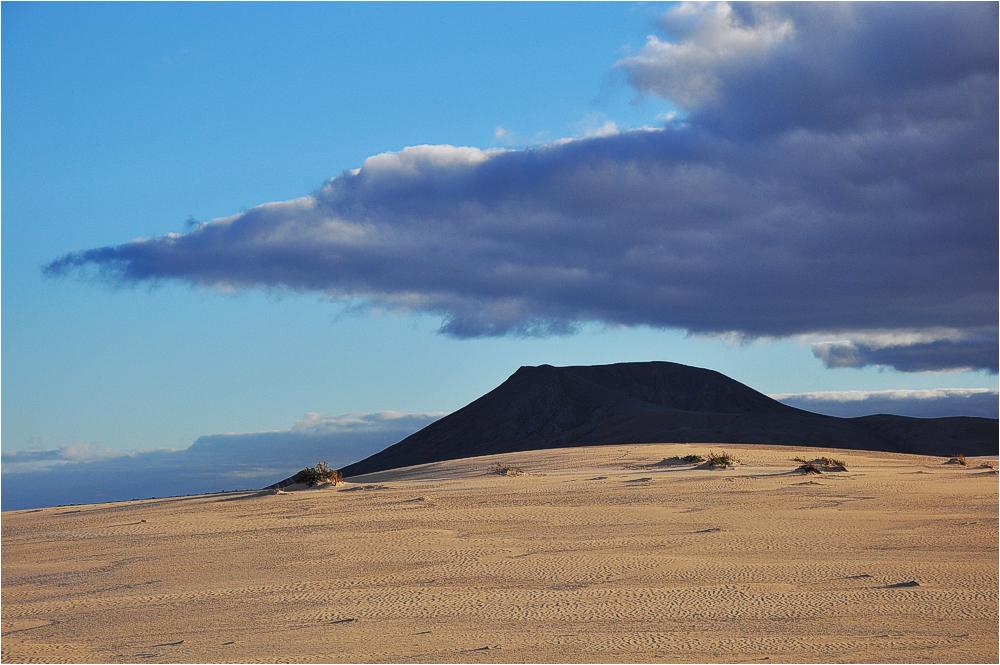 Fuerteventura, Dünenlandschaft bei Corralejo