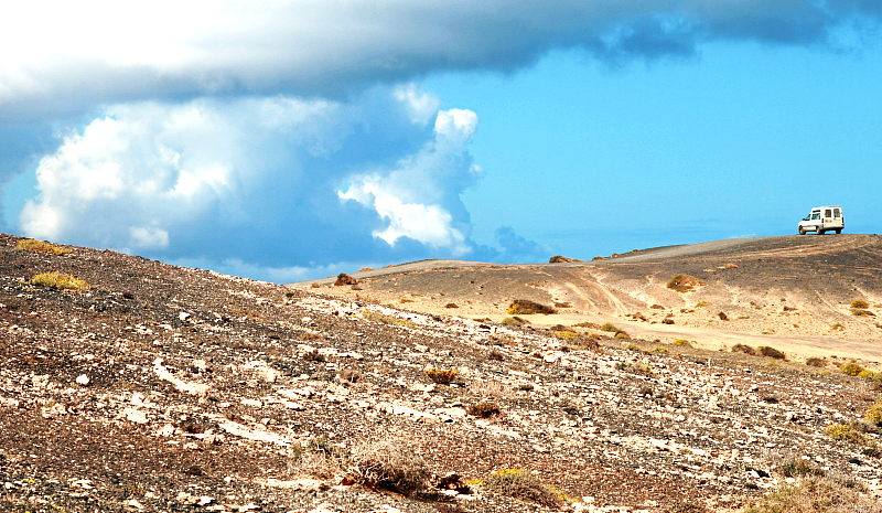 Fuerteventura - ein Tourist in La Pared