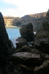 Fuerteventura: In der Höhle