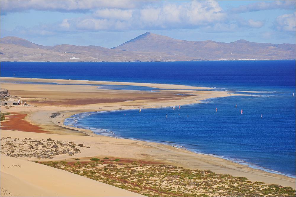 Fuerteventura, Playas de Sotavento de Jandía