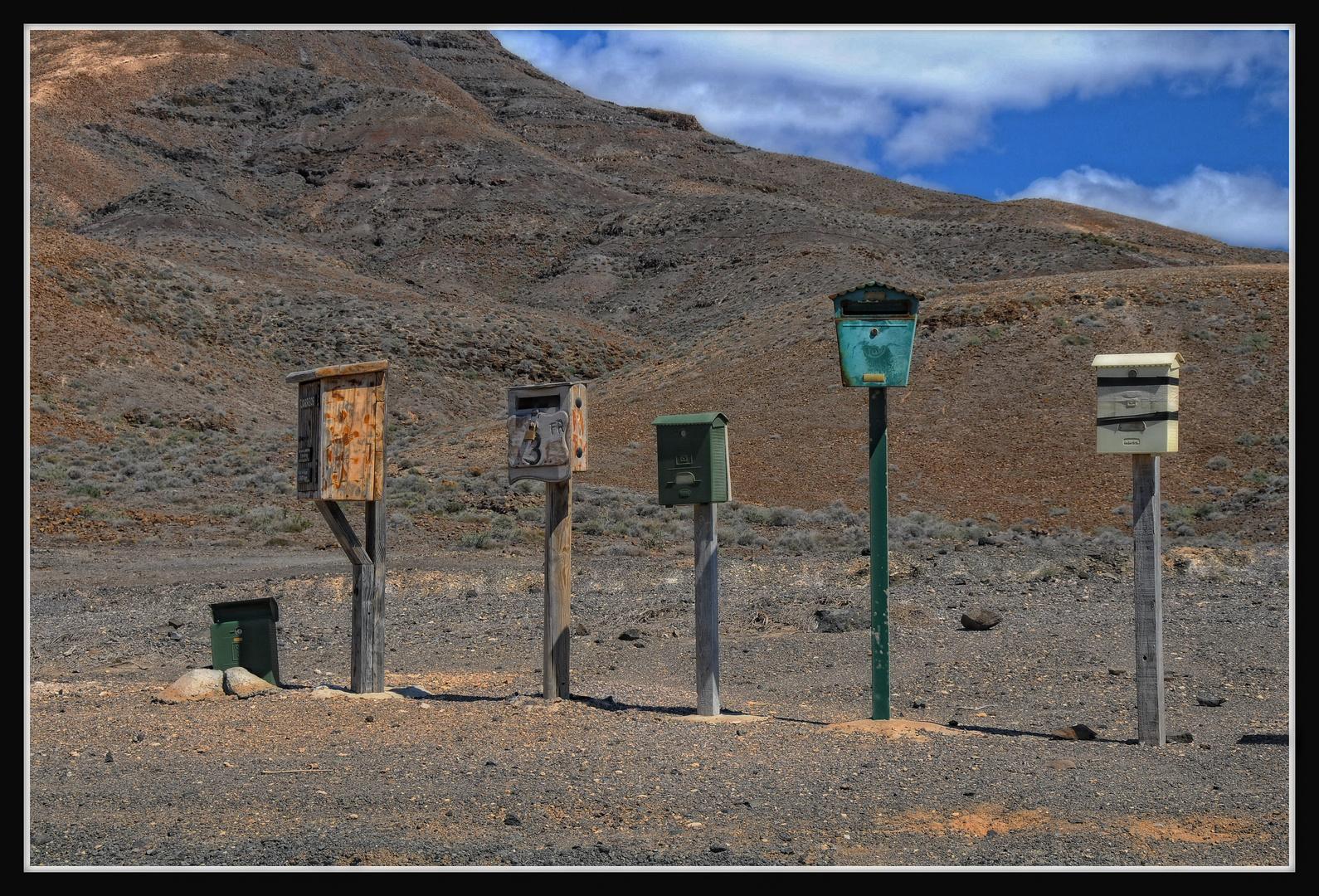 Fuerteventura - Please, Mr Postman ...