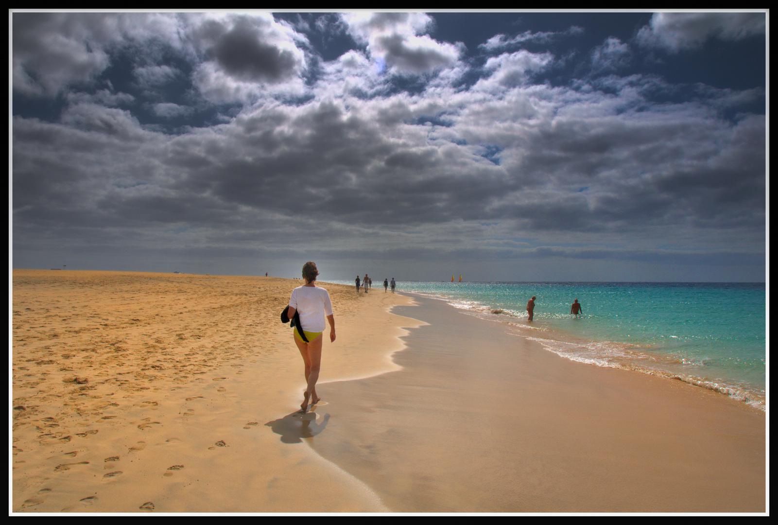 Fuerteventura - Strandspaziergang