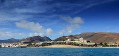 Fuerteventura von der Yacht aus