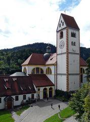 Füssen - Stadtkirche St. Mang