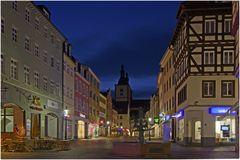 Fulda bei Nacht