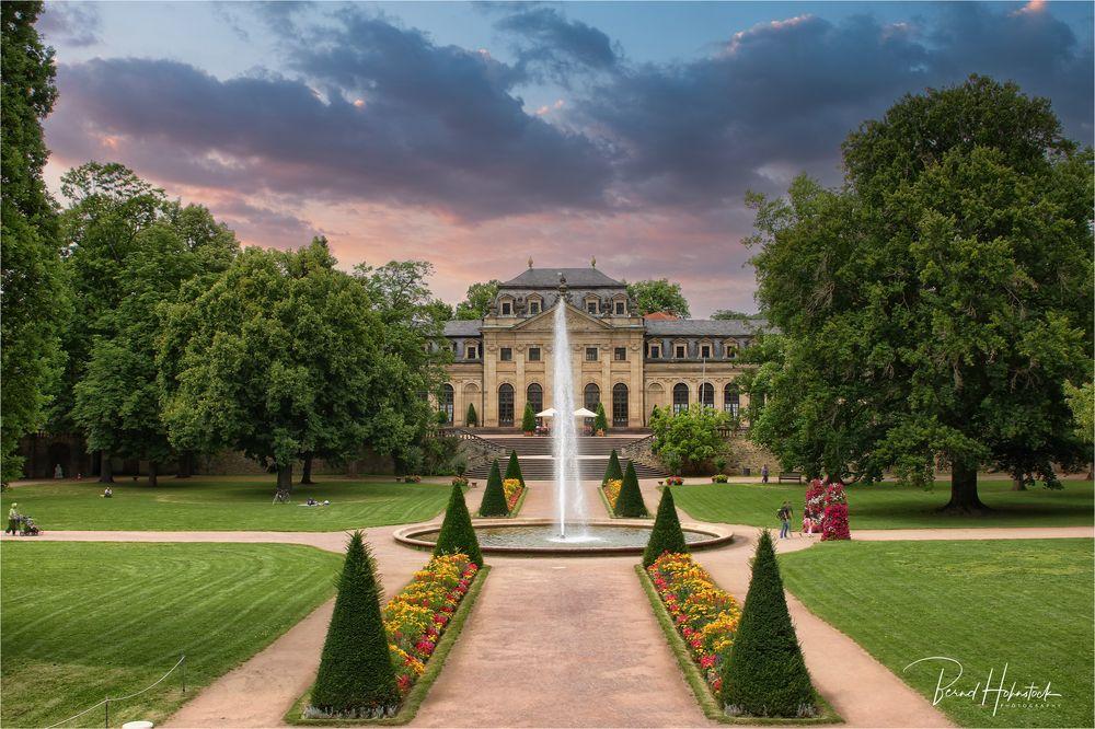 Fulda .... Schlossgarten mit Orangerie
