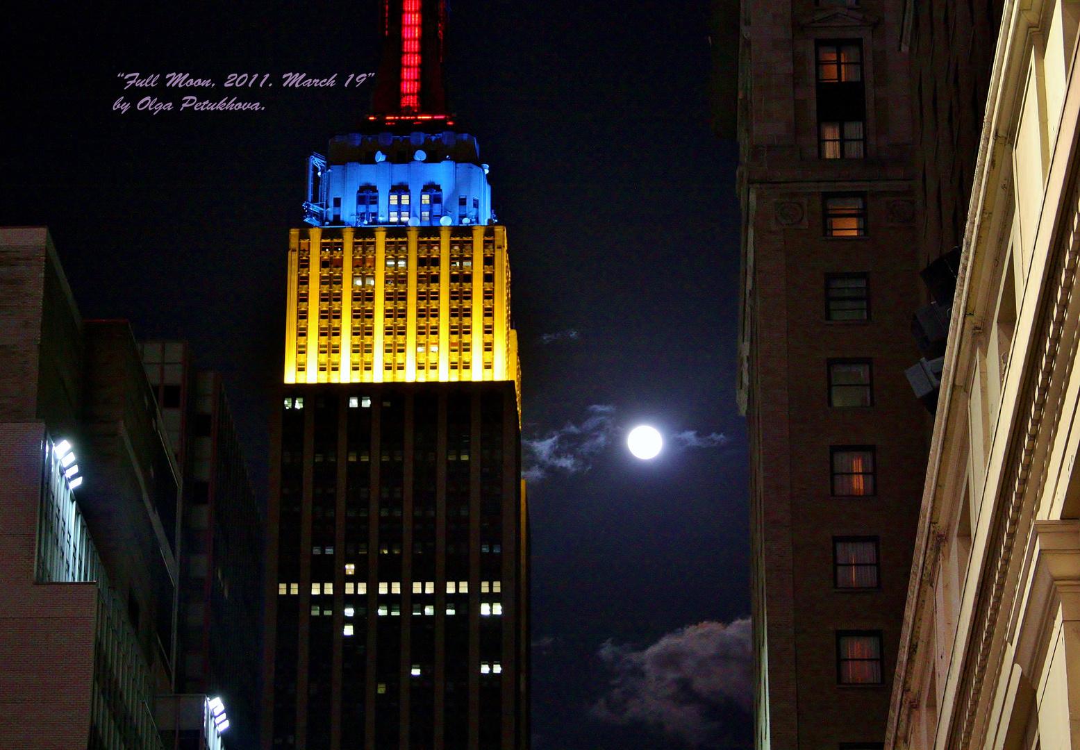 Full Moon, 2011, March 19.
