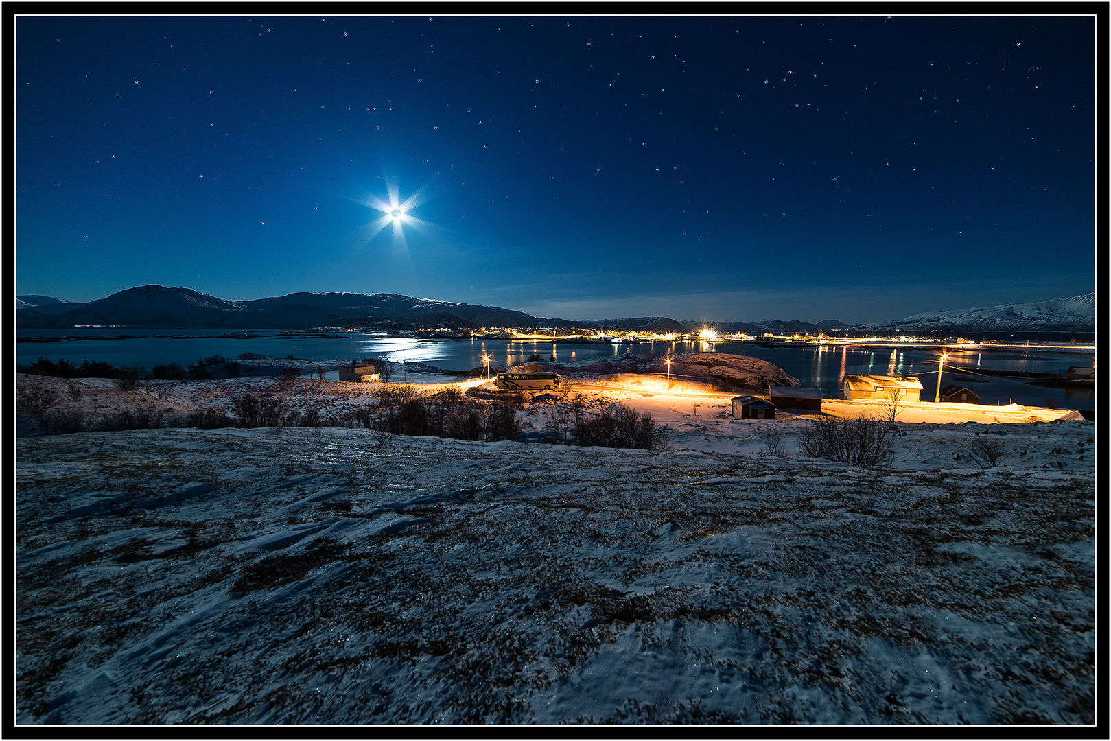 ~ full moon in northern-norway ~