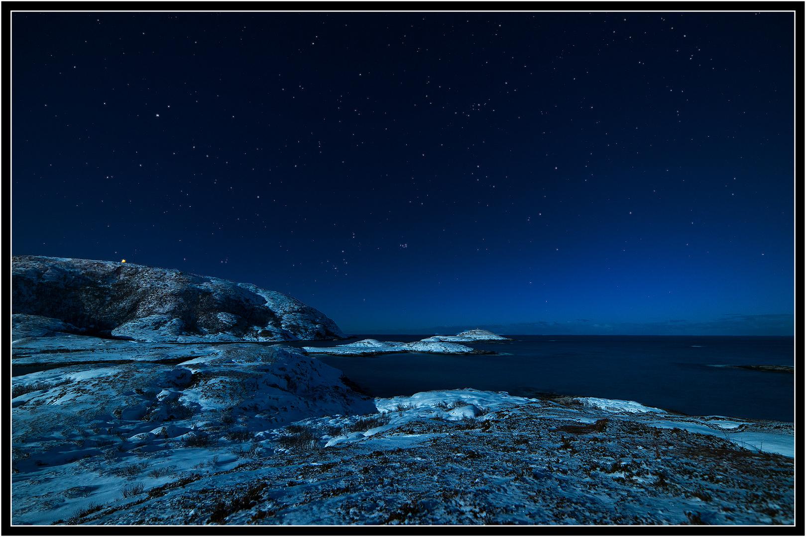 ~ full moon light at the coast ~