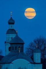 Full moon over Maria Birnbaum
