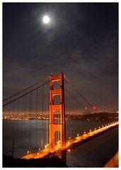 Full Moon over San Francisco