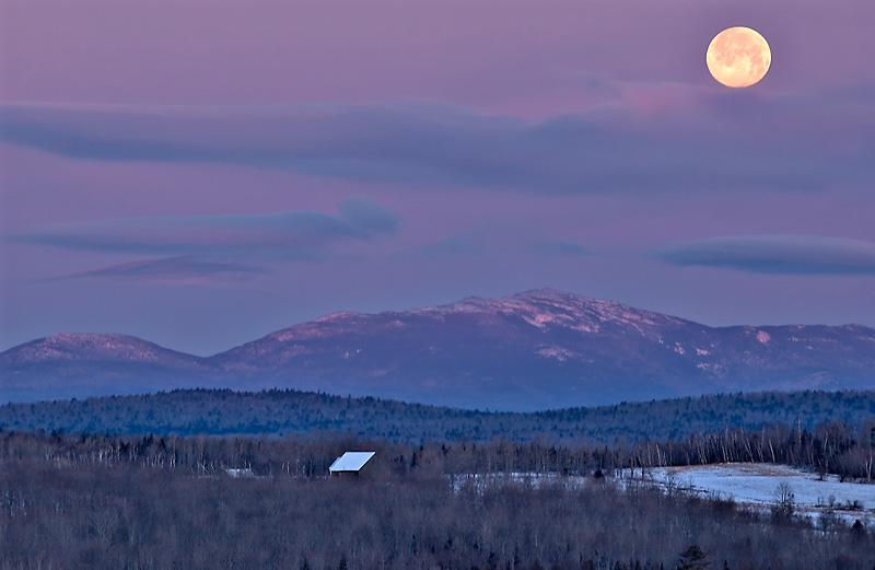 Full Moon Sunrise