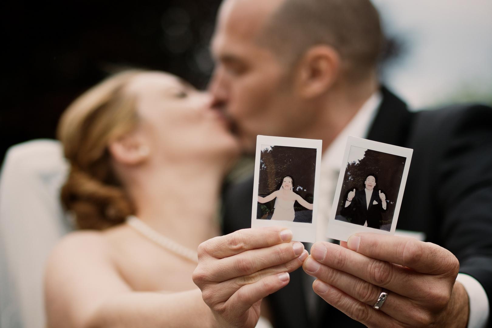 Fun With Polaroid Foto Bild Hochzeit Portrait Polaroid Bilder