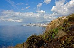 Funchal aus der Ferne