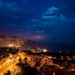 > Funchal bei Nacht <