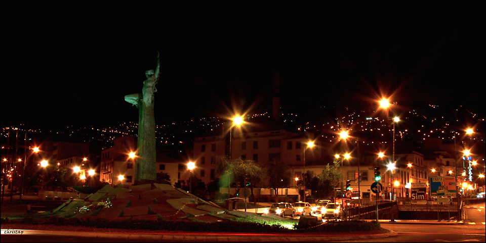 Funchal bei Nacht I