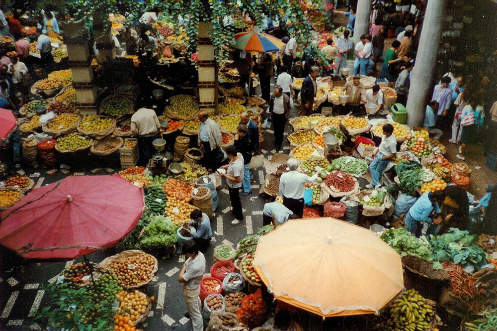 Funchal Markthalle 1988