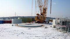 Fundament für Windkraft