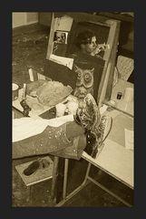 Fundstücke (2) Künstler bei der Arbeit