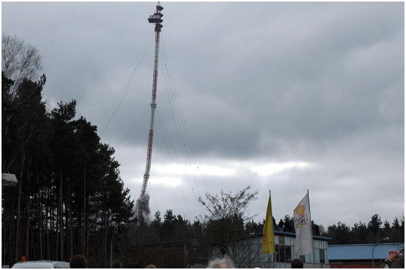 Funkturm Frohnau am 08.02.2009