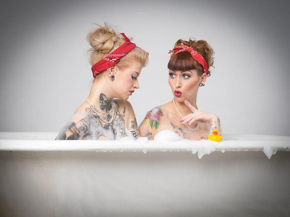 funny bath ...