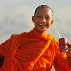 Funny Monk on Udong Mountain 1