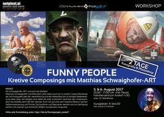 Funny People mit Schwaighofer-ART