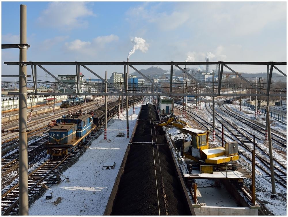 Fushun Coal Mining - Main Yard