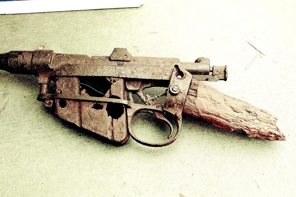 fusil anglais par patrice dupin