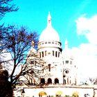 Fusionandose con el cielo de Paris