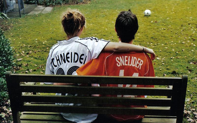 Fussball Verbindet Rivalen Deutschland Und Die Niederlande