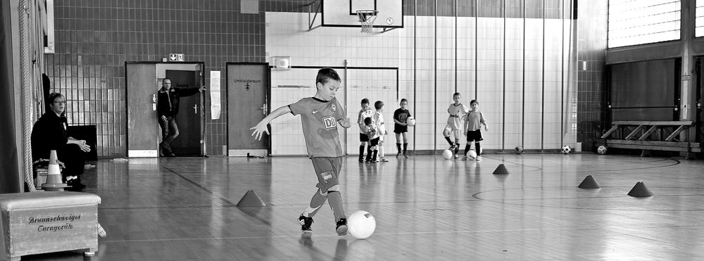 Fußballcamp von Heiko Zienert