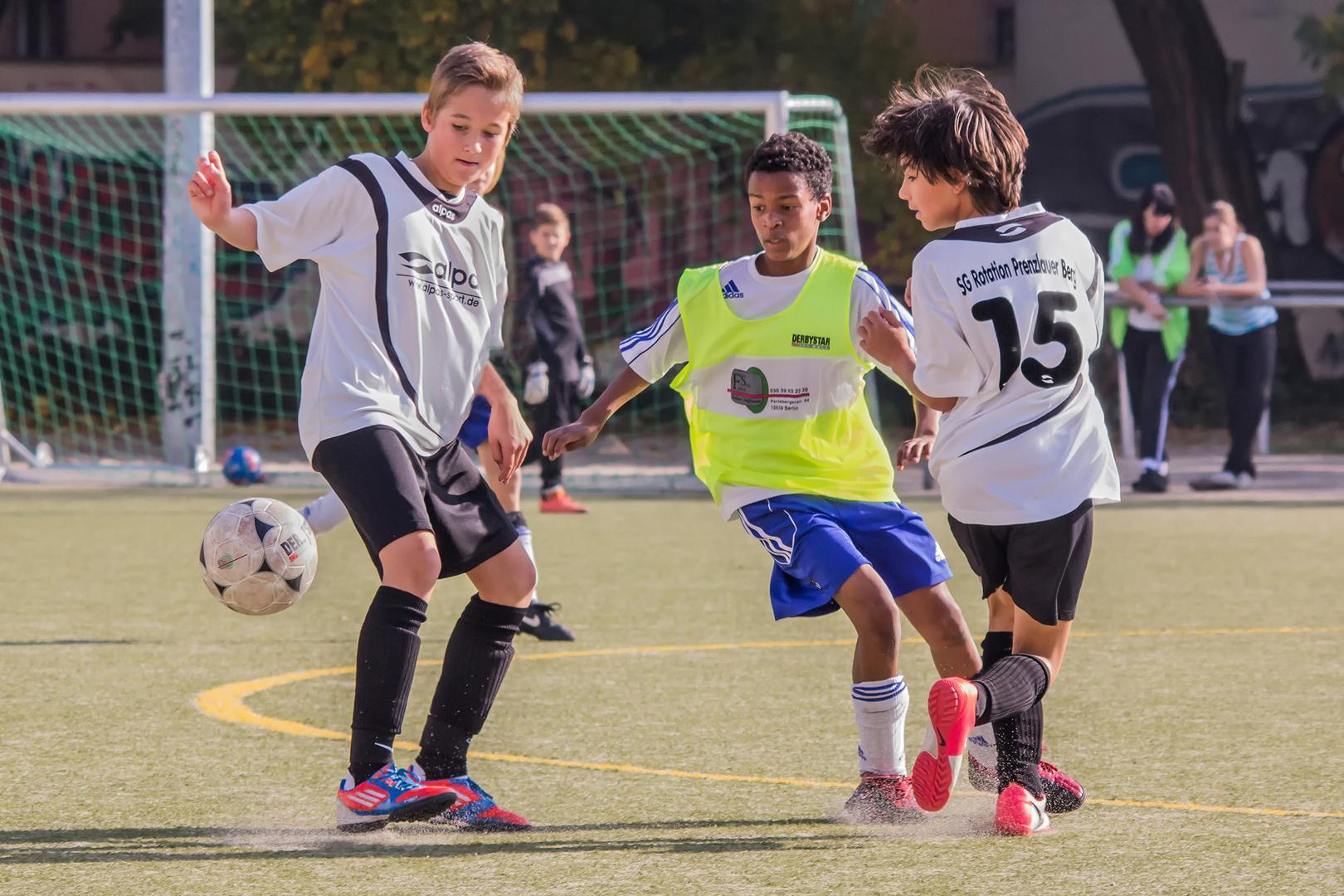Fußballspiel der C-Junioren