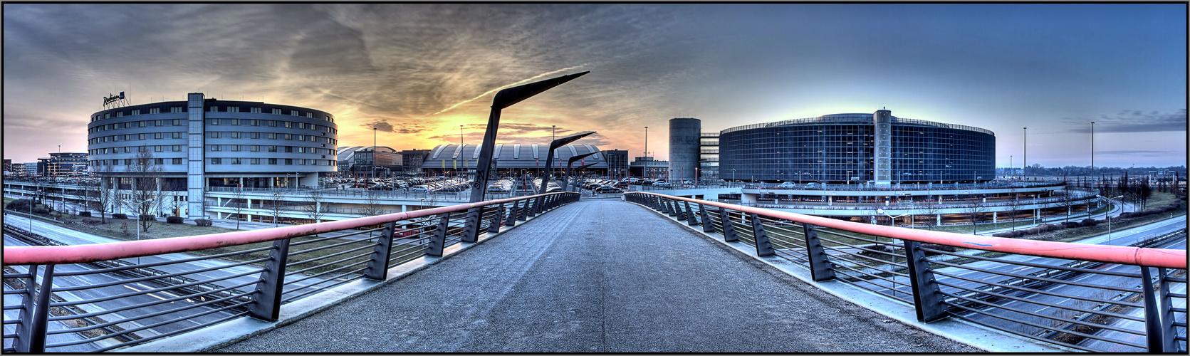 Fußgänger Brücke
