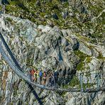 Fussgänger-Seilbrücke - Triftbrücke
