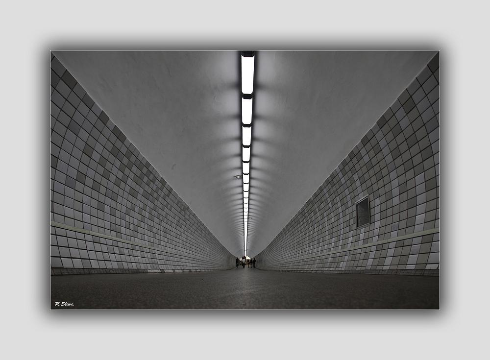 Fußgänger-Tunnel..