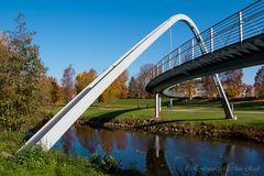 Fußgängerbrücke Kurpark Bad Kissingen