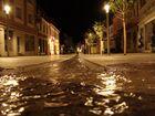 Fußgängerzone Grünstadt bei Nacht