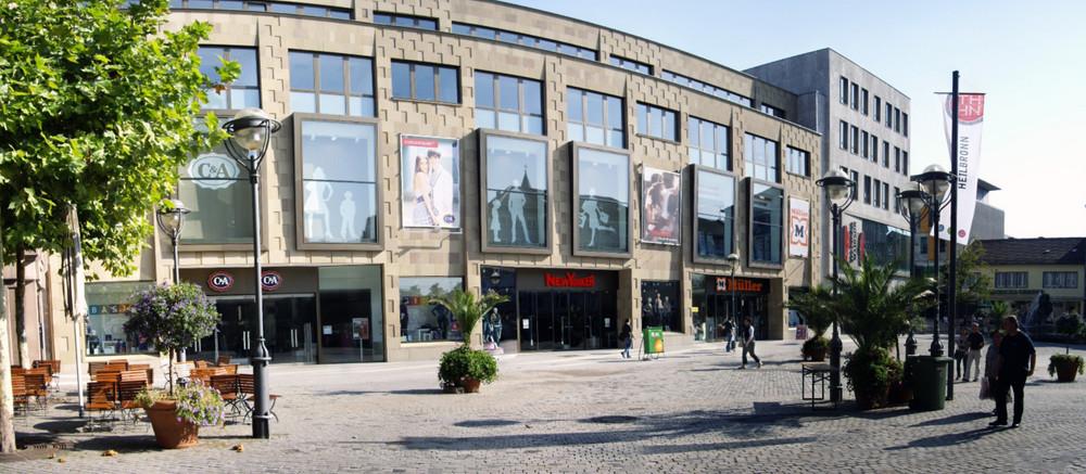 Fußgängerzone in Heilbronn
