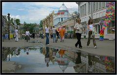 Fußgängerzone in Irkutsk....