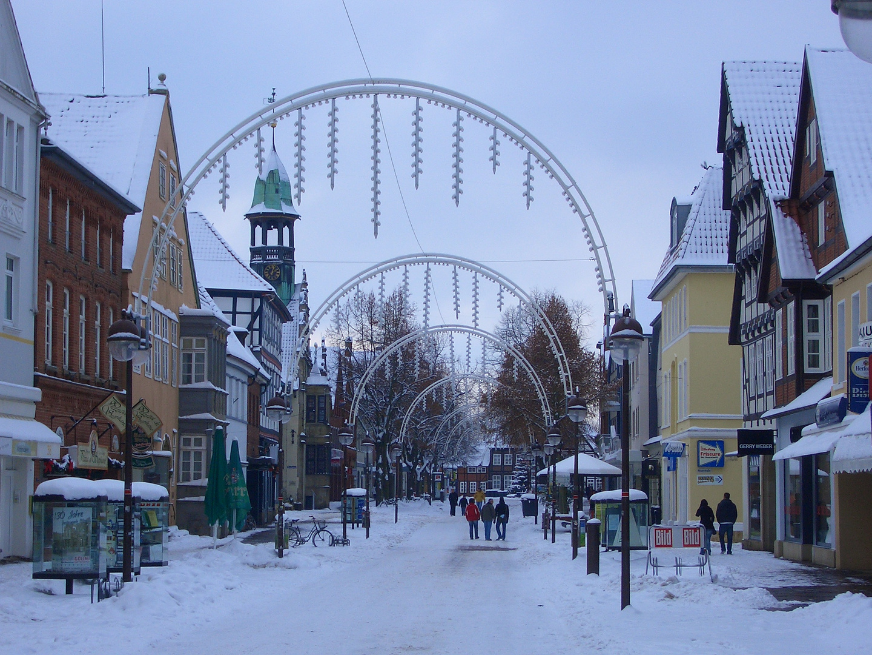 Fußgängerzone Stadt Nienburg/Weser