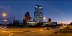 Fußweg zur EZB