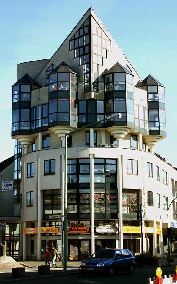 Futuristische Architektur...