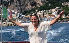 gabbiano ad Amalfi