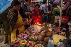 Gaben für Kala Bhairava
